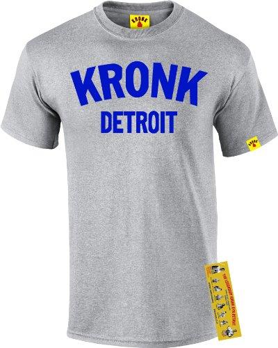 KRONK boxe palestra Detroit T-shirt da uomo Klitschko Thomas Hearns Emanuel amministratore
