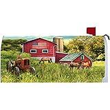 Custom Decor Rustic Tractor Mailbox Cover