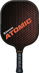 Gamma Atomic Pickleball Paddle, 8.5 oz, Fiberglass Composite Hitting Surface and Frame, Aramid Honeycomb Core, meets USAPA Specs