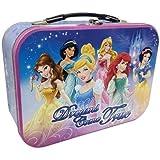 Disney Princess Dreams Come True Collectible Metal Lunch Box Tin