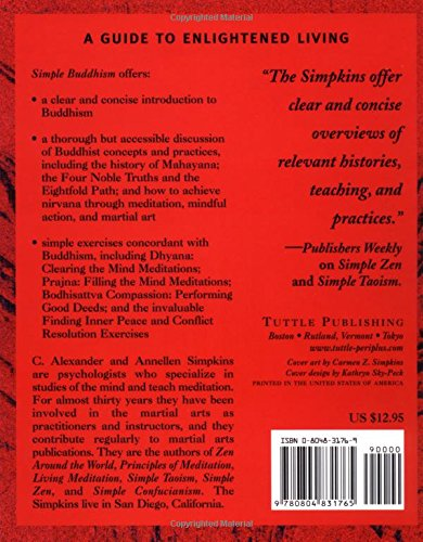 Simple Buddhism: A Guide to Living Virtuously (Simple Series)