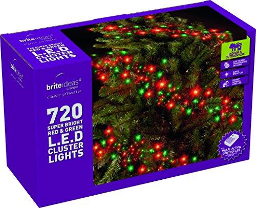 brite-idee-221479-24-watt-led-luce-grappolo-catena-con-luci-a-led-rosso-e-verde