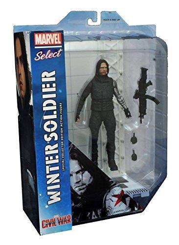 Diamond Select Toys Marvel Select: Captain America: Civil War: Winter Soldier Action Figure