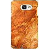 AMAN Wood Grain 3D Back Cover For Samsung Galaxy A7 2016