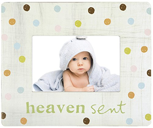 C.R. Gibson Treasured Tabletop Photo Frame by Sandra Magsamen, Heaven Sent - 1