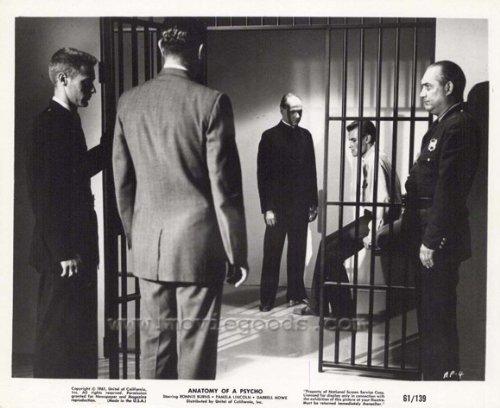 Anatomy Of A Murder Film Still Prison