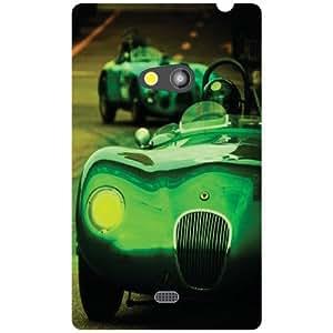 Back Cover For Nokia Lumia 625 (Printed Designer)