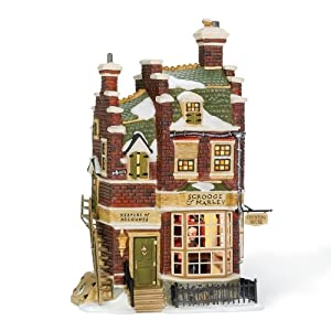 #!Cheap Department 56 Dickens Village Scrooge/Marley Counting House