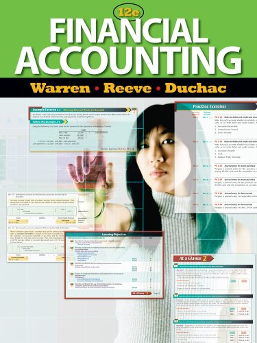 Bundle: Financial Accounting, 12th + CengageNOW Printed Access Card