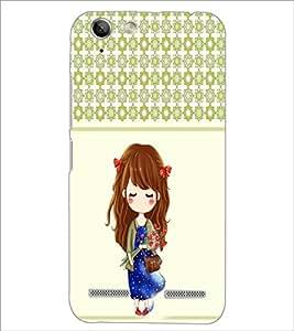 PrintDhaba Cute Doll D-5838 Back Case Cover for LENOVO VIBE K5 (Multi-Coloured)