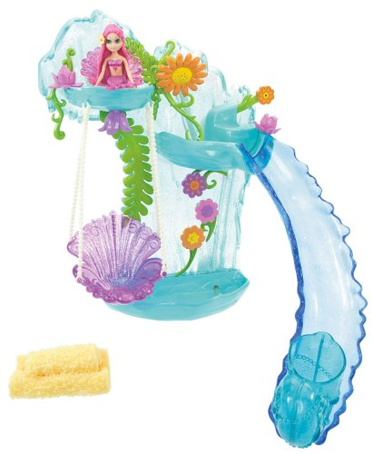 Pool Slides:Mattel barbie dolls Mermaid drops Playset Images