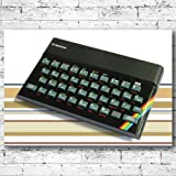 60x42cm CANVAS ART PRINT Sinclair ZX Spectrum Console Retro Classic