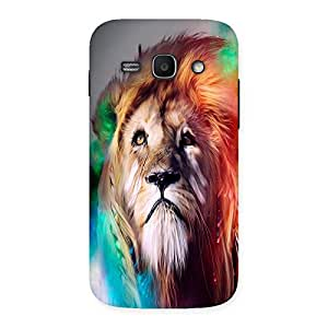 Ajay Enterprises Loin Splash Back Case Cover for Galaxy Ace 3