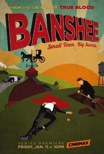 Unframed poster Banshee TV TV Style A This is not the Movie or ...27x40inch(69x102cm)