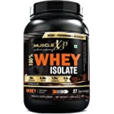 MuscleXP 100% Whey Protein Isolate - 1Kg (2.2 Lbs), Double Rich Chocolate - The New Whey Standards
