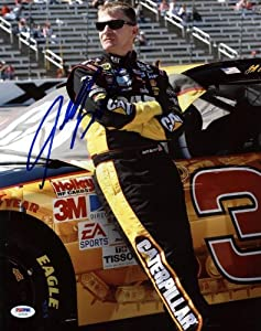 JEFF BURTON NASCAR SIGNED AUTHENTIC 11X14 PHOTO AUTOGRAPHED CERTIFICATE OF... by Press Pass Collectibles
