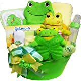 Art of Appreciation Gift Baskets   My Little Pollywog Bath Time Fun For Baby Boys and Girls Basket