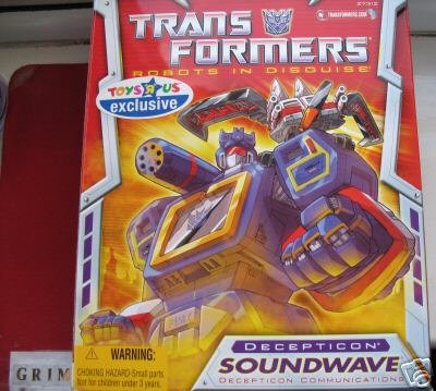 Transformers Generation 1 commemorative Edition Soundwave