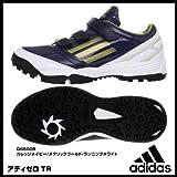 アディダス adidas  野球 ソフトボール トレーニングシューズ 26.5cm アディゼロ adizero TR2  G66928 紺金白 国内正規品