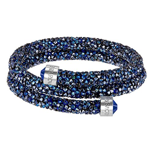 swarovski-crystaldust-pulsera-doble-azul-5255903