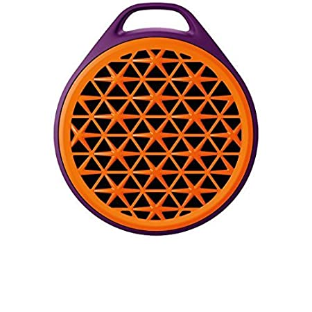 Logitech X50 Wireless Bluetooth Speaker (Purple/Orange)