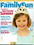 img - for Disney Family Fun August 2009 Outdoor Crafts, Games That Tickle Kids' Brains, Turn Your Backyard Into a Water Park, 58 Pages of Affordable Crafts Recipes & Getaways, Family Reunion Campout, Toy-Trading Swap Meet book / textbook / text book