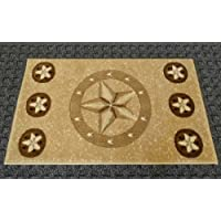 Texas Door Mat 2 Ft. X 3 Ft. 4 In. Beige #78