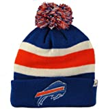 NFL Buffalo Bills Men's Breakaway Knit Cap, One Size, Sonic Blue at Amazon.com