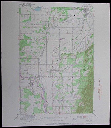 sumas-washington-canada-border-nooksack-river-vintage-1974-old-usgs-topo-chart