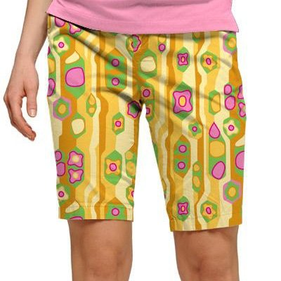 Loudmouth Golf Ladies Shorts: Sock it to Me - Size 10 by Loudmouth Golf