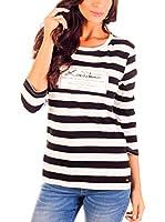 Lois Camiseta Manga Larga Implacable Maybe (Negro)