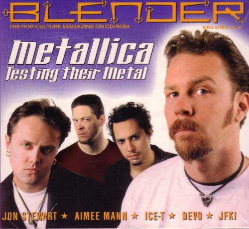Metallica: Testing Their Metal (Blender Vol 4, Pop-Culture Magazine on CD-Rom)