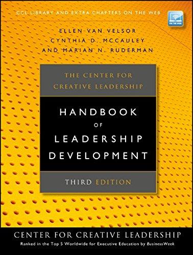 Center for Creative Leadership Handbook of Leadership Develo (J-B CCL (Center for Creative Leadership))