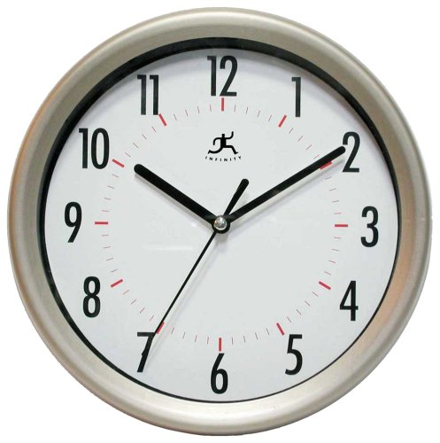 Infinity Instruments Facile-Gunmetal Wall Clock