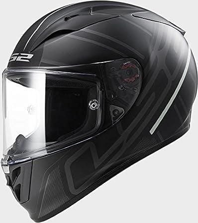 LS2 FF323 Arrow R Ion Matt Black Titanium Motorcycle Helmet