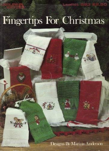 Fingertips For Christmas (Cross Stitch, Towels) (Leisure Arts, #593) front-932164
