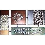 Wandobjekt Wandbild Eisen lackiert 68cm