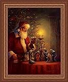 The Spirit Of Christmas by Greg Olsen Nativity Scene 15x19 Framed Art Print Picture