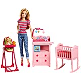 Barbie Careers Babysitter Doll and Playset