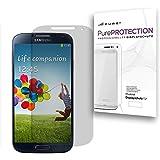 Pure² PurePROTECTION 6x Displayschutzfolie matt für Samsung Galaxy S4 i9500 / i9505 LTE kratzfestest mit Anti Glare Beschichtung (Keine Reflektion -Entspiegelnd), keine Fingerabdrücke mehr. 6x Schutzfolie im BIG PACK