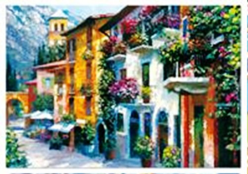 Cheap John N Hansen Village Hideaway, Howard Behrens (2000 pc puzzle) (B000MRMF5Y)