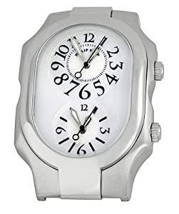Philip Stein Large Stainless Steel Watch 2-F-FAMOP