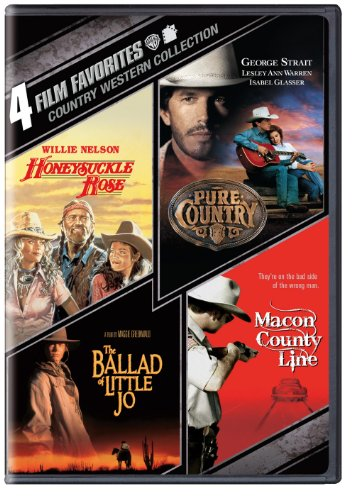 Cover art for  4 Film Favovrites: Country Westerns