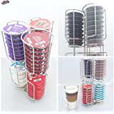 New Tassimo Pod Holder 48 Coffee Pod T-DISC Capsule Dispenser Stainless Steel - LIMITED STOCK AT THIS PRICE !!