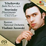 Tchaikovsky: Suite No. 3, Op. 55 / Stravinsky: Divertimento (from The Fairy's Kiss)