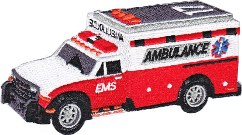 Application Rescue Ambulance Patch