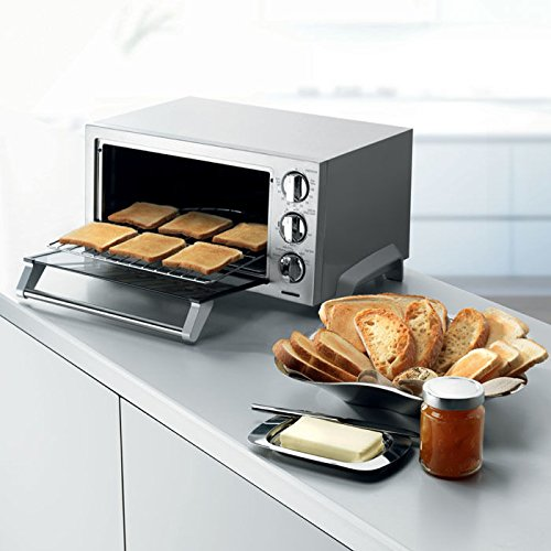DeLonghi EO1270 6-Slice Convection Toaster Oven, Stainless Steel (Convection Toaster Oven Delonghi compare prices)