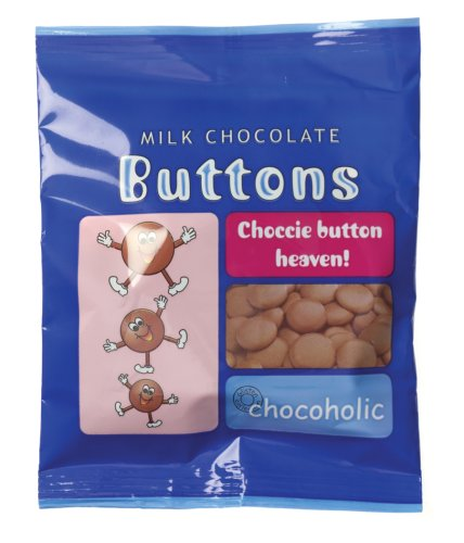 Buy Glisten Milk Chocolate Buttons Candy, 2.01 Ounce Bag (Pack of 34) (Glisten, Health & Personal Care, Products, Food & Snacks, Snacks Cookies & Candy, Candy)