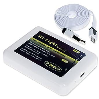 2 4ghz wifi led kontrolleinrichtung als kabelloser dimmer. Black Bedroom Furniture Sets. Home Design Ideas