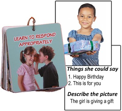Learn to respond appropriately flip cards
